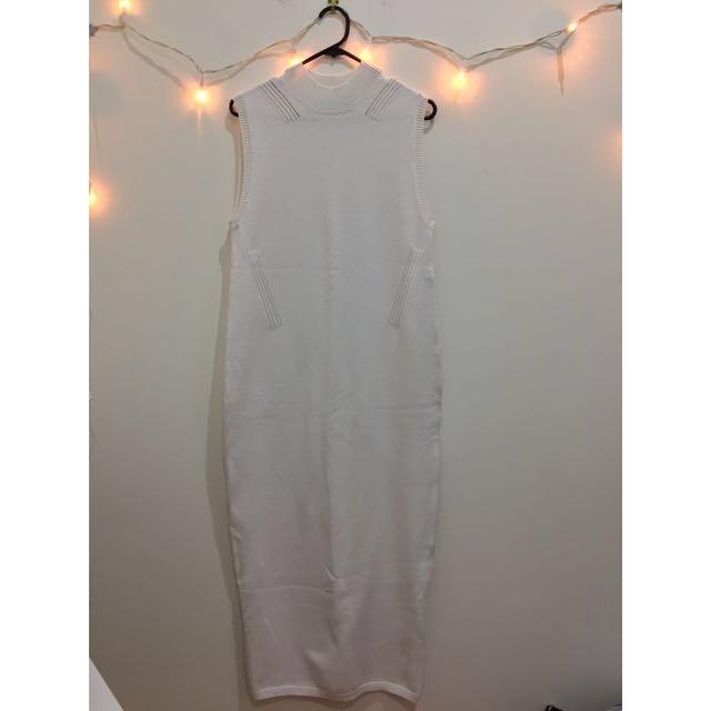 NEW! ASOS white maxi dress