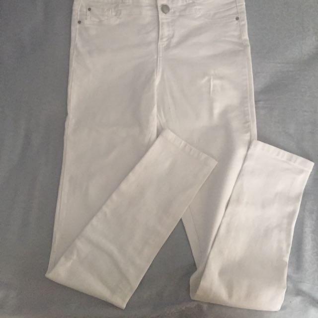 new look High waist skinny jeans