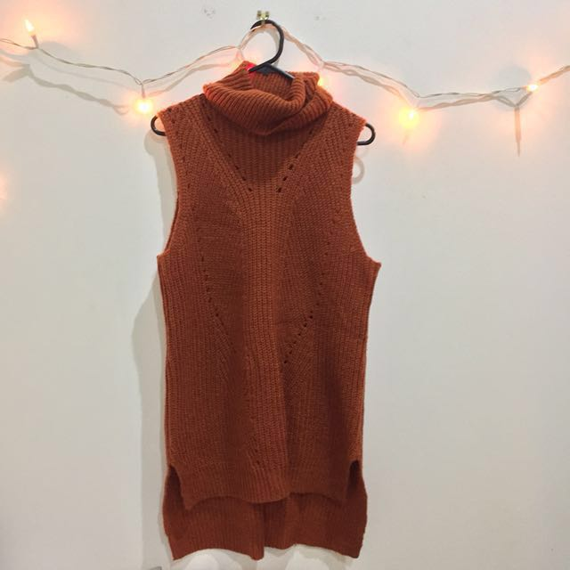 NEW LOOK roll neck knit top