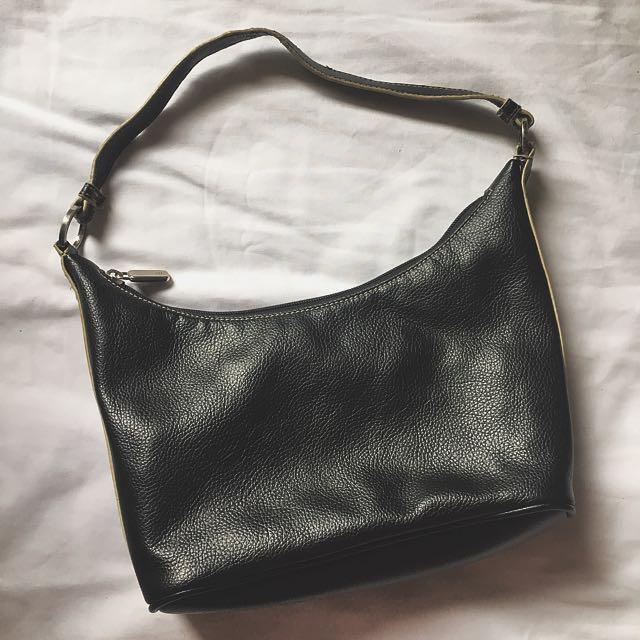 New York & Company Basic Leather Bag