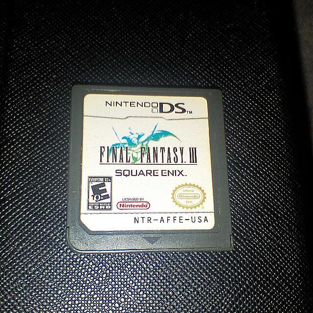 Nintendo ds Final Fantasy