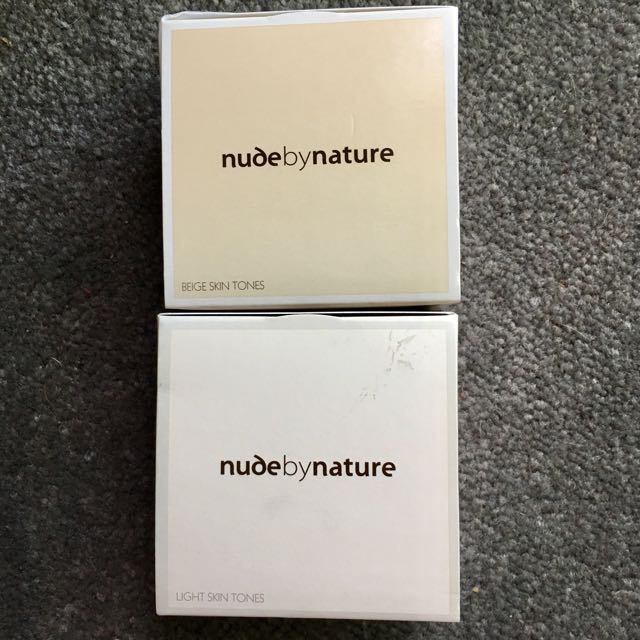 NudeByNature Mineral Cover in Light or Beige