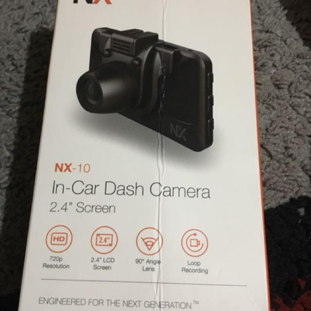 NX10 Dash camera
