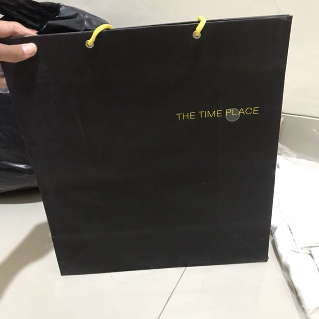 Paperbag the time place large