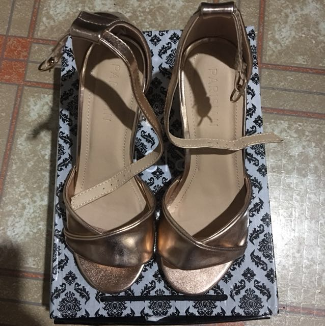Parisian block shoes