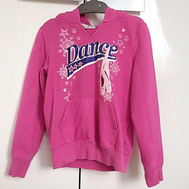 Pink Hoodie Sweater // Jaket Anak Tudung 5-6T