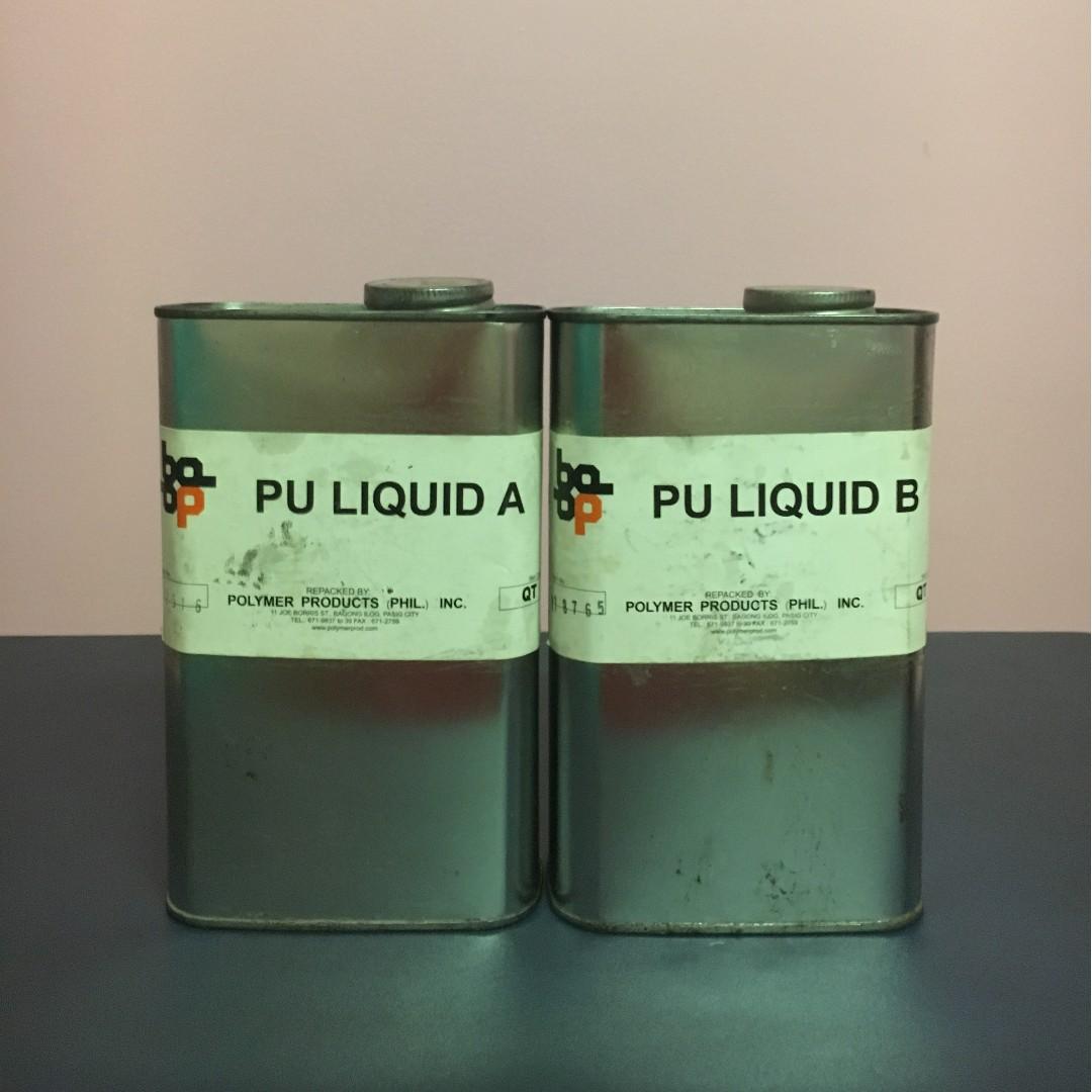 Polyurethane Liquid A & B - Polymer Products (Phil.) Inc.