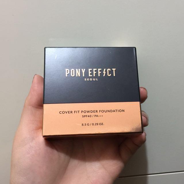 Pony Effect氣墊粉餅+補充包