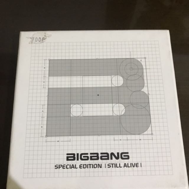 PRELOVED ALBUM BIGBANG