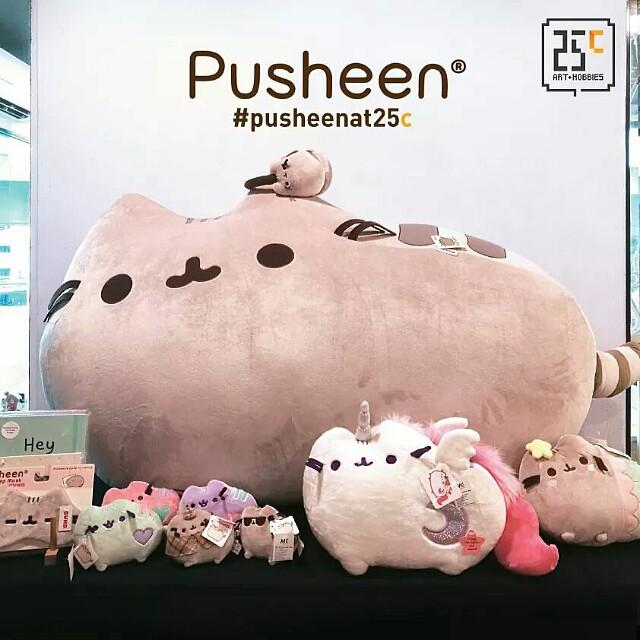 [INFO] Pusheen Plush & Merchandise @ 25c Art & Hobbies