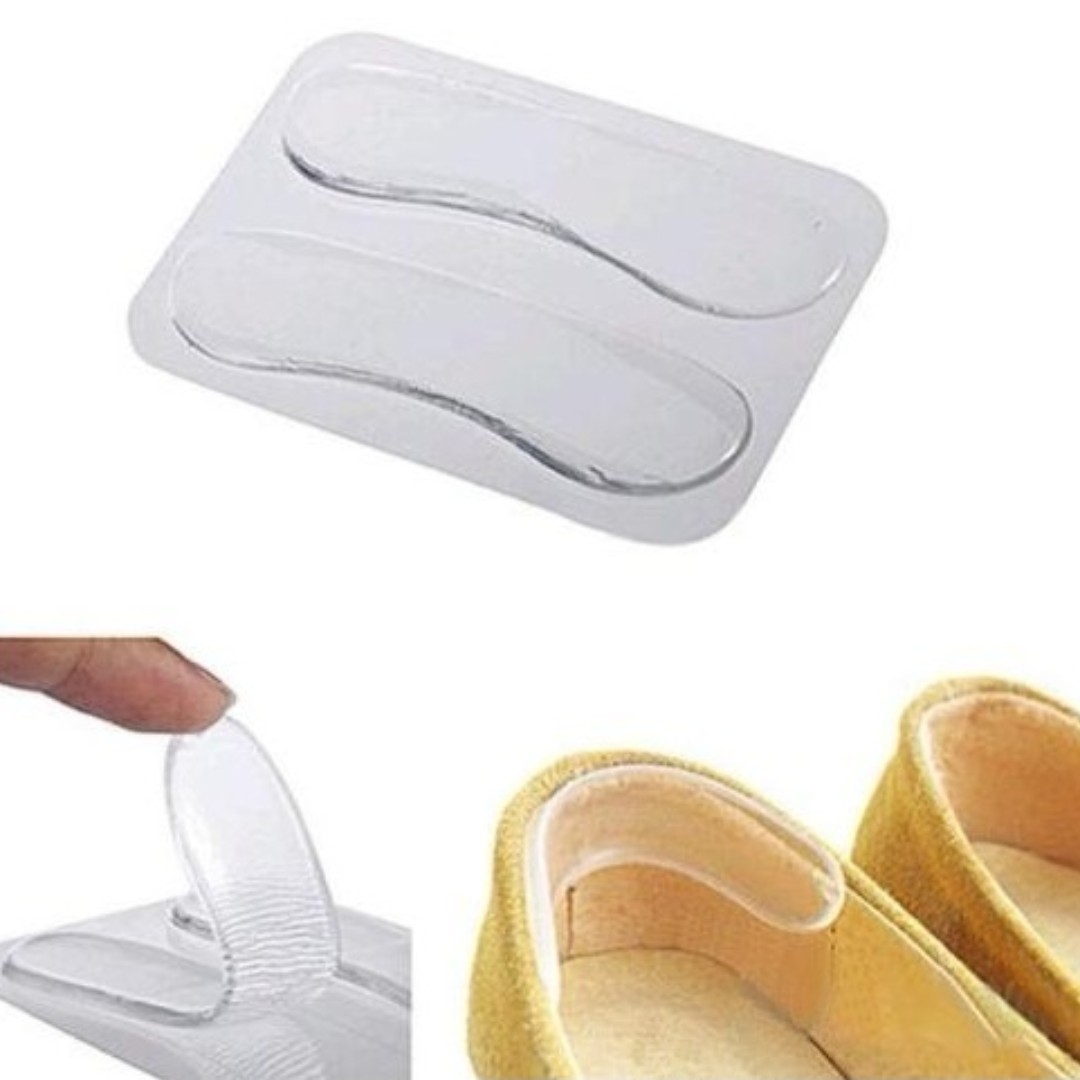 *Quality* Silicone Gel Forefoot Heel Grip Liner Shoe Pad Insoles Men Women High Heel Elastic Cushion ankle rear