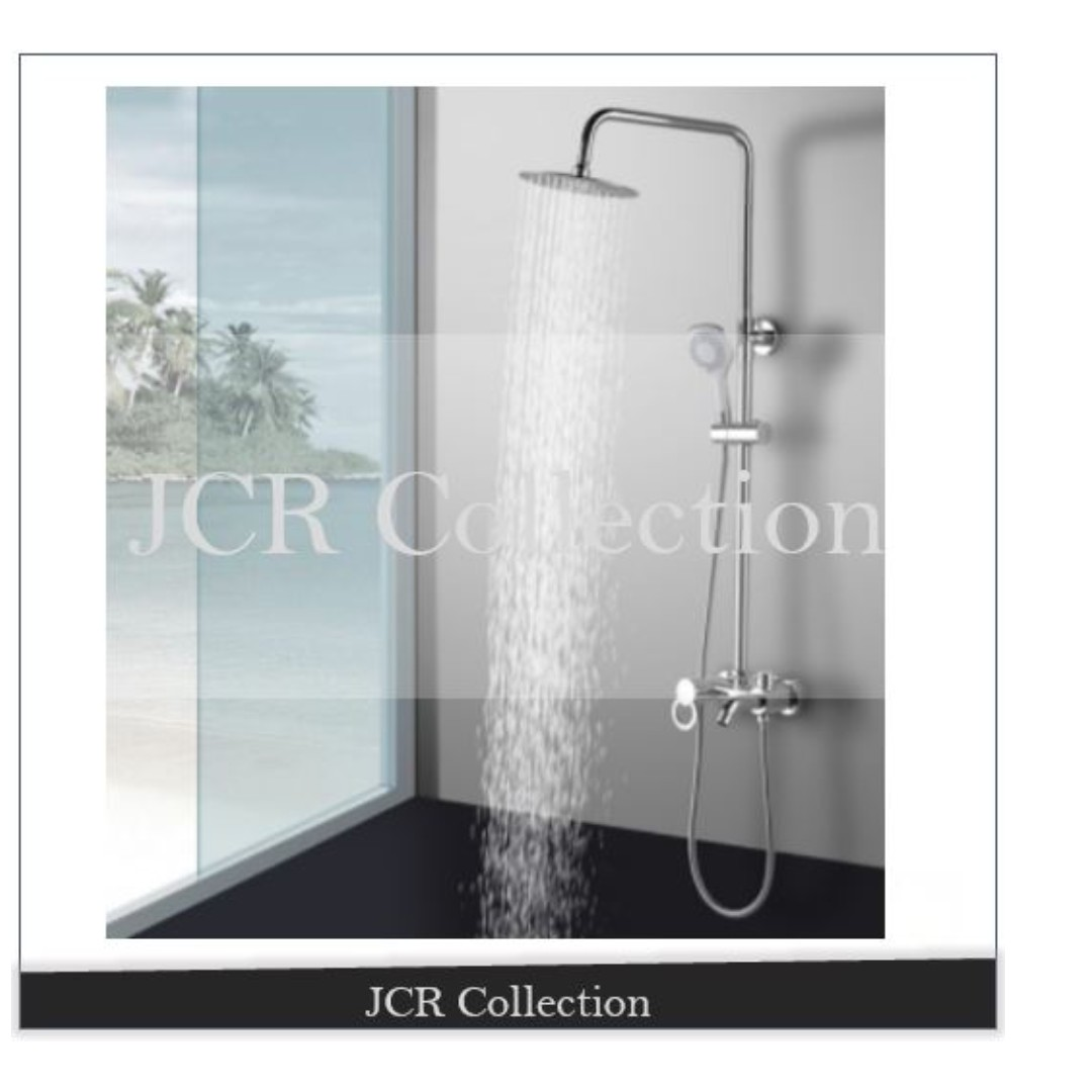 Rain Shower Set / Bathroom / / Shower Head / Mixer / Toilet, Home ...