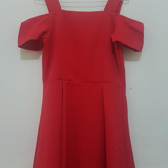 Red Classic Dress