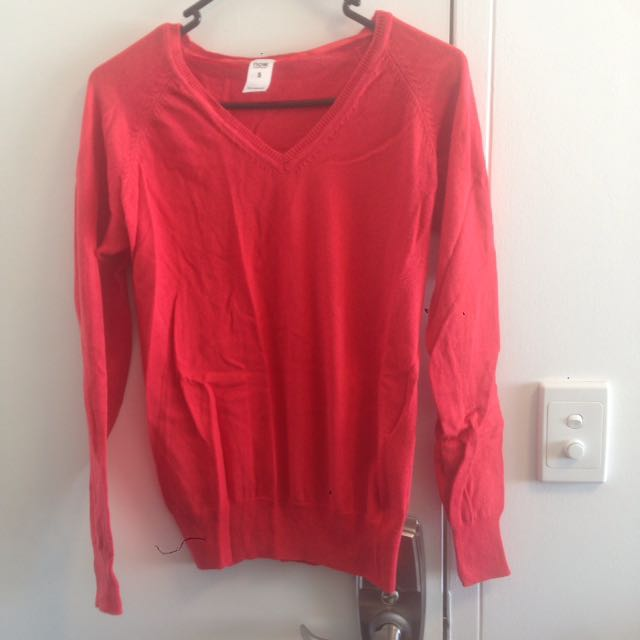 Red Sweater - Size S
