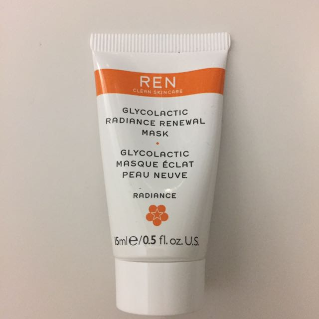 REN Glycolactic Radiance Renewal Mask 15ml