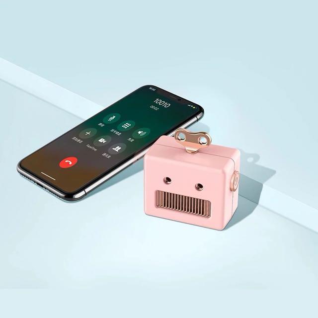 Robot Mini Bluetooth Speaker