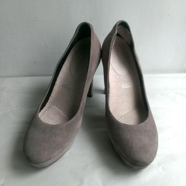 Rockport灰色高跟鞋 #五百元好女鞋