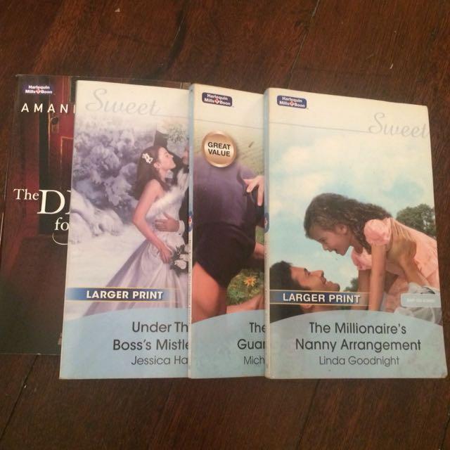 Romance Novels - Harlequin Mills Boon on Carousell