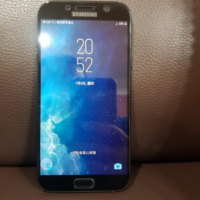 Samsung 三星 A7 5.7吋 2017年版 黑色 雙卡雙待機 防水防塵智慧型手機