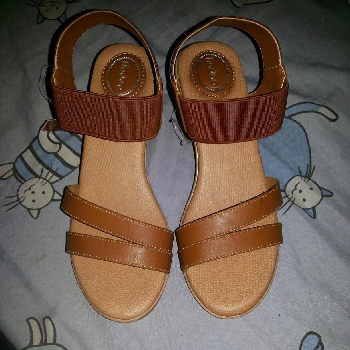 Sandal Wedges Fladeo