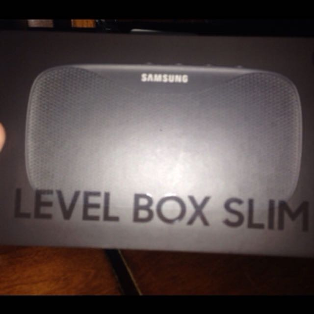 Sasmung level box speaker