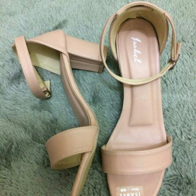 Shabby Chic Pink Heels