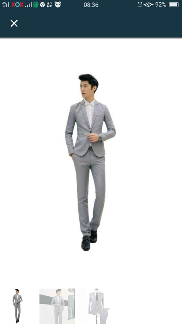 Slim Fit Blazer with pants