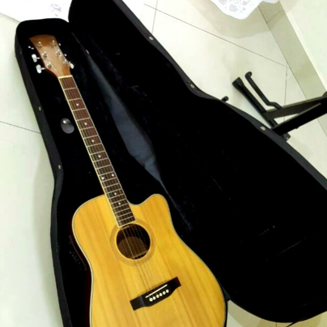 Softcase for acoustic guitar