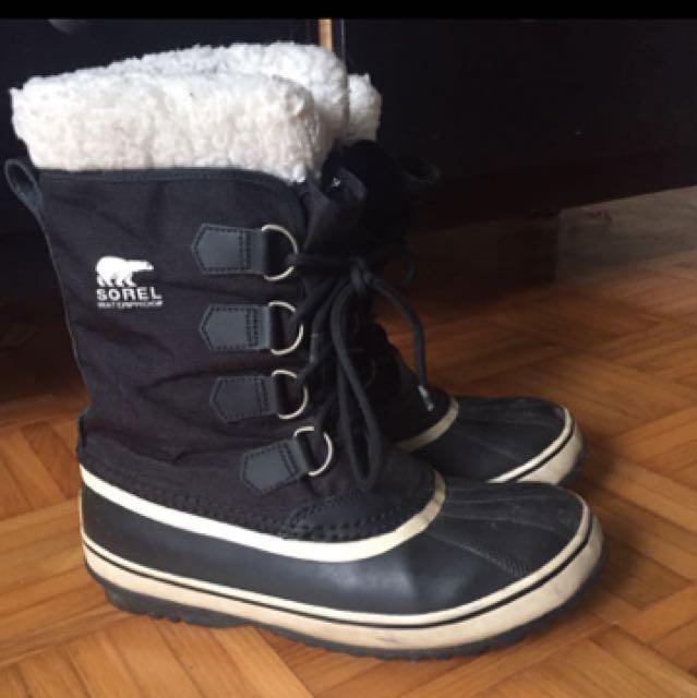 Sorel Winter Waterproof Boots Size 8
