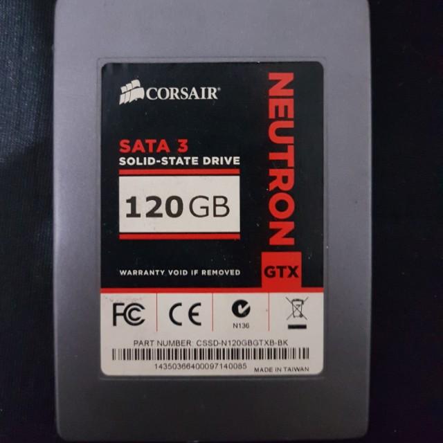 SSD CORSAIR NEUTRON GTX 120gb