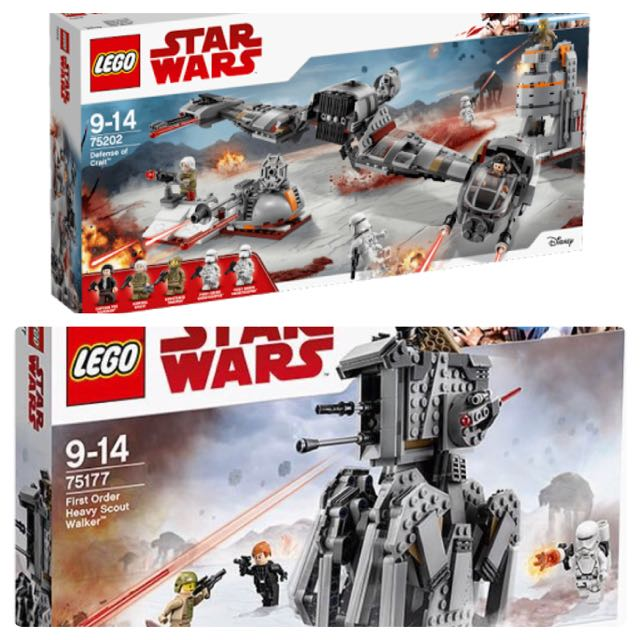 Star Wars Lego New Sets sealed