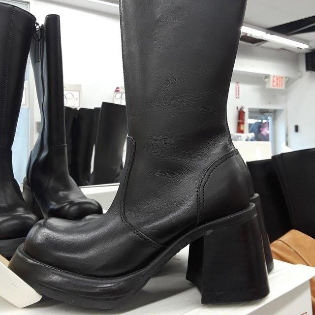 Steve Madden women boots black
