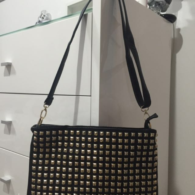 Studded Clutch / Bag