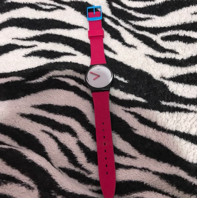 Swatch Pink Watch