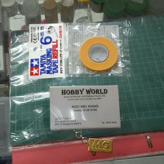 Tamiya Japan Masking Tape Refill 6mm