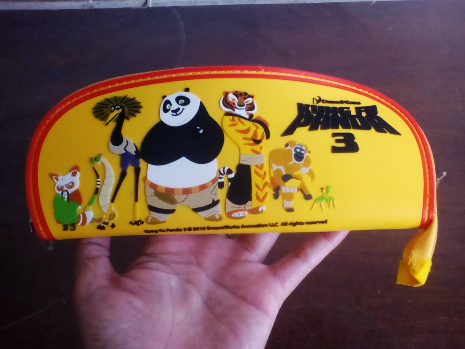 Sale Tempat pensil Kungfu panda free ongkir