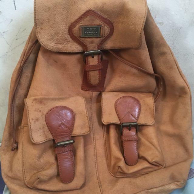 The Artina authentic leather backpack