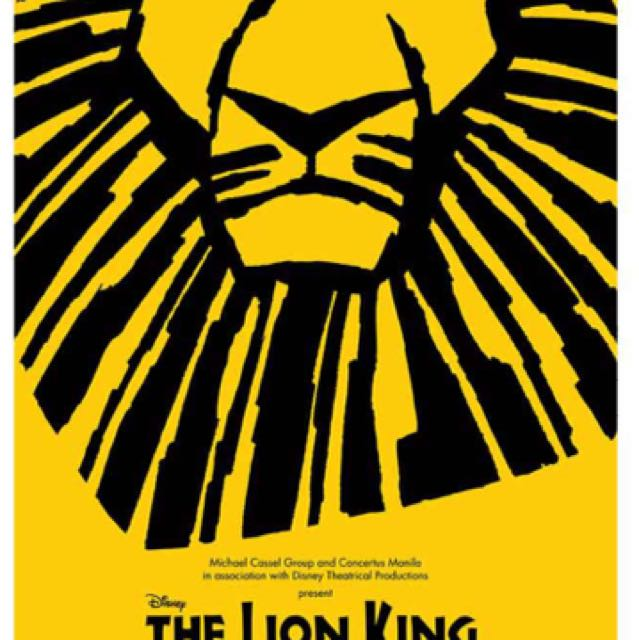 The Lion King (Three Tickets For April 22)