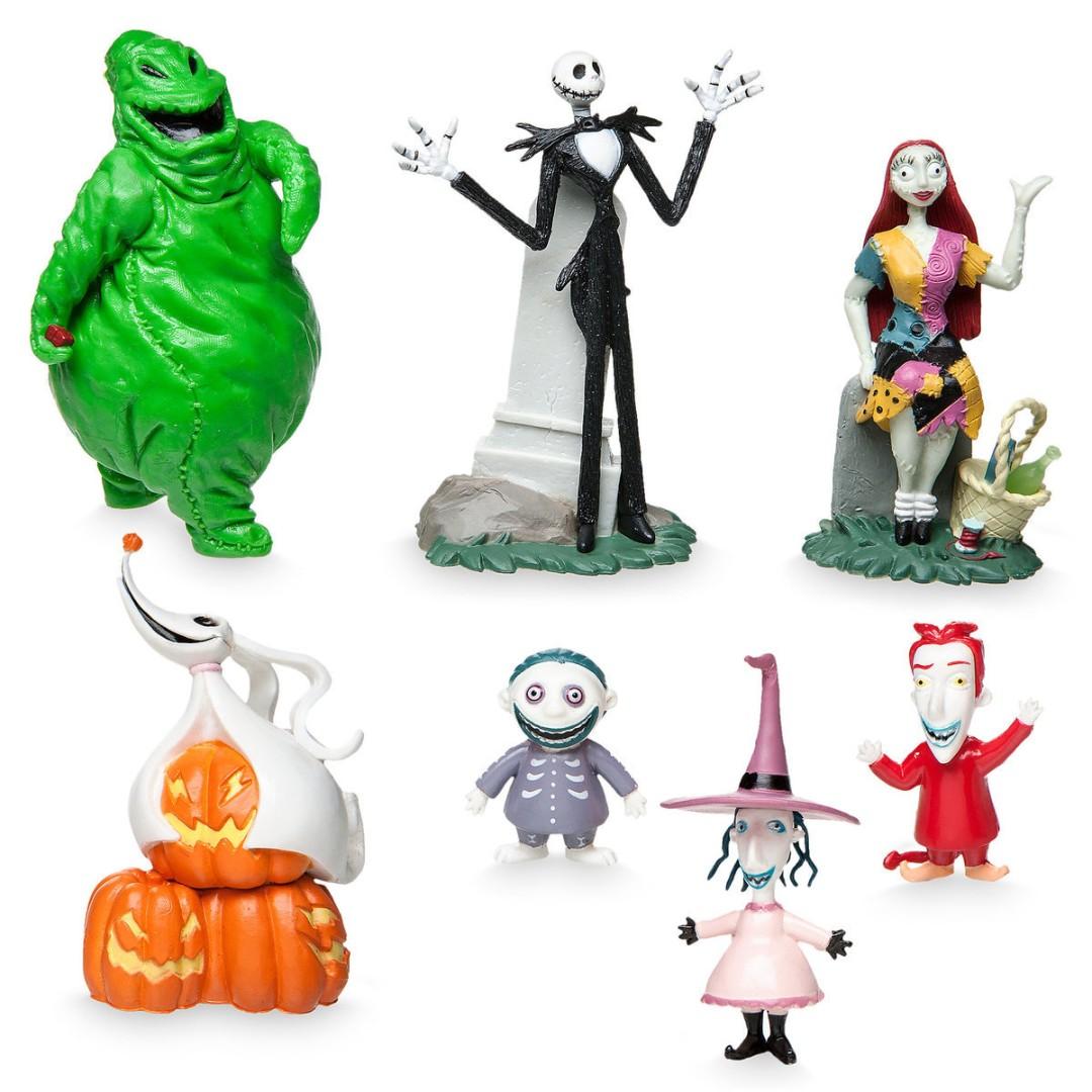 Tim Burton\'s The Nightmare Before Christmas Figure Play Set, Toys ...
