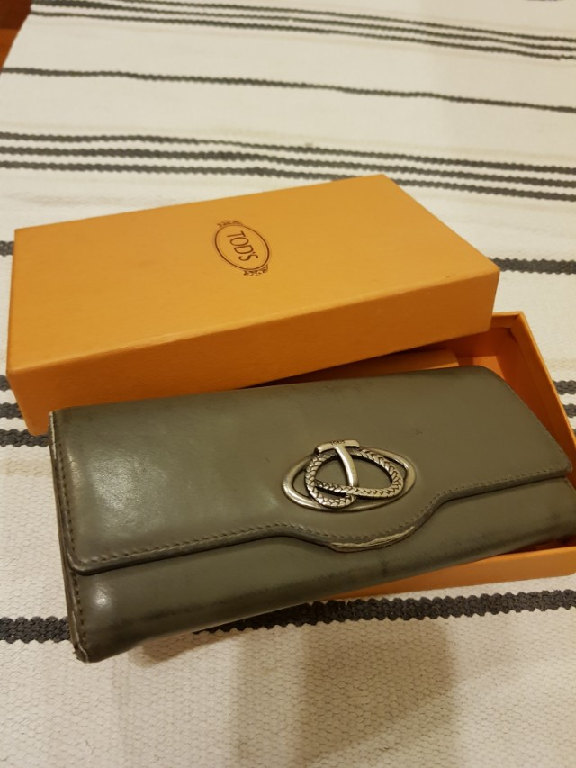 Tods Long Wallet