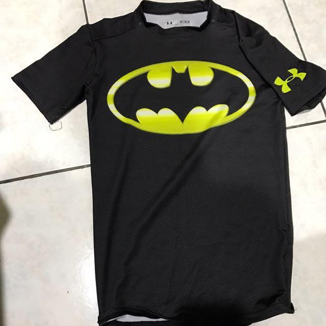 Under armour Dc系列 運動上衣 健身上衣蝙蝠俠 鋼鐵人 超人 美國隊長
