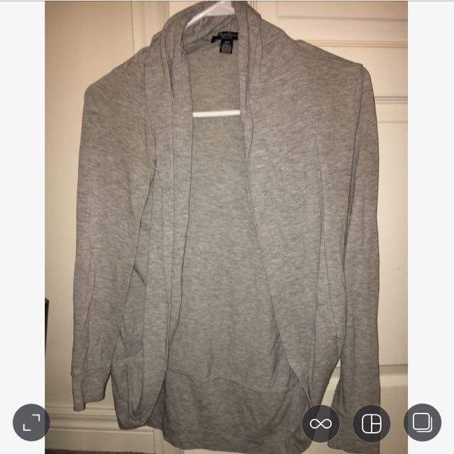 urban planet grey cardigan