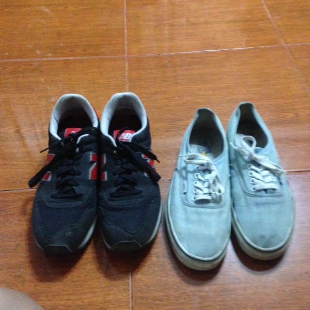 Vans & New Balance Shoes Bundle