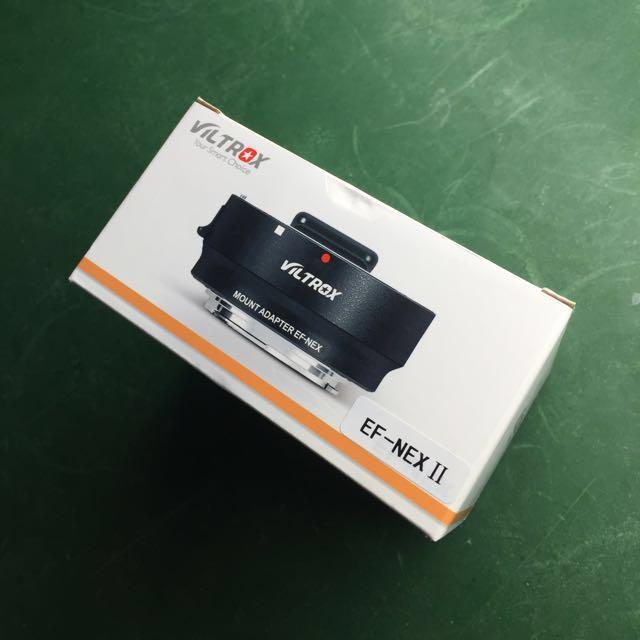唯卓Viltrox EF-NEX II 2代鏡頭轉接環/可用A7/A7R/A7RII