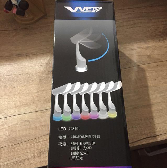 VVETOP情境Led閱讀燈usb充電式(sp-1802)