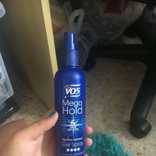 Weather Resistant Gel Spray