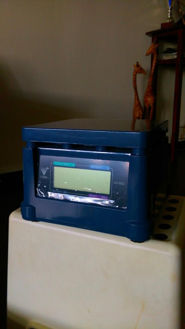 Digital scale (2 LCD Display)