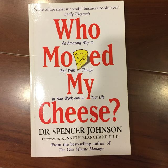 Who Moved My 🧀 Cheeses?