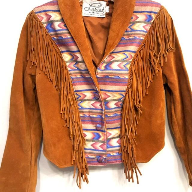 Women's Western Suede Coat