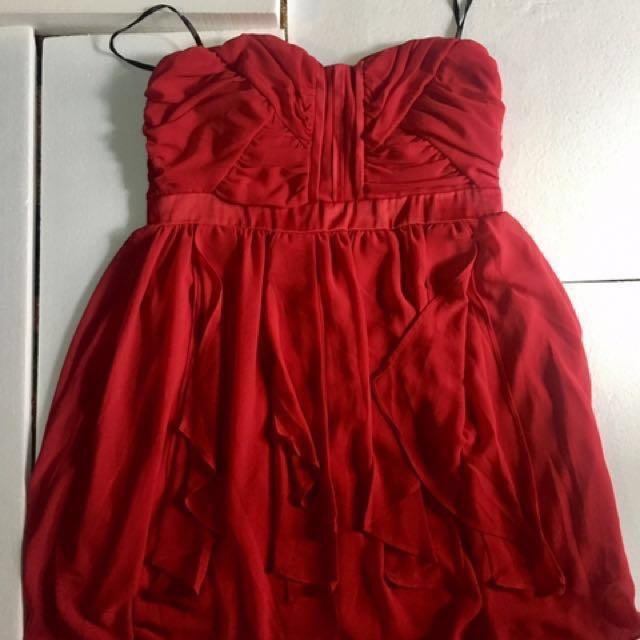 XOXO Red Dress